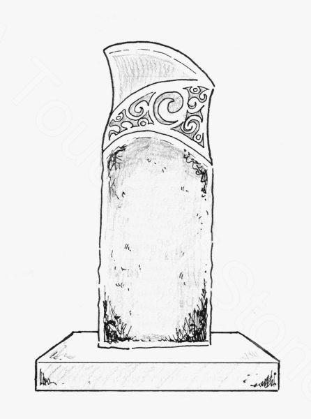 Design for the headstone
